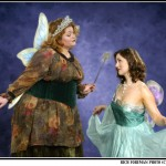 Veronica McHale (Queen of the Fairies) and Jessye Wright (Iolanthe)