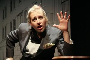 Caroline Rau as Rabbi Shea Hecht/Photo: Johnny Knight