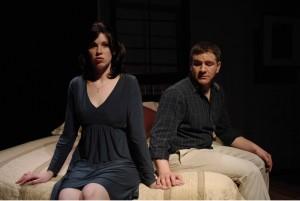 Megan Keach and Tony Fiorentino/Photo: Michael Brosilow