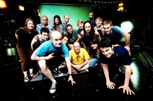 Neo-Futurist ensemble 2007/Photo: Andrew Collings