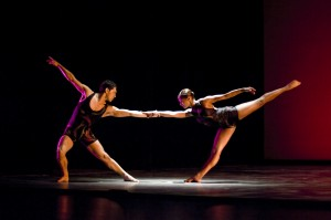 Cesar Salinas and Meredith Schultz/Photo: Cheryl Mann