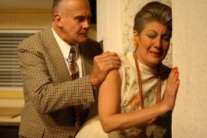 Maureen and Bob at Js Door