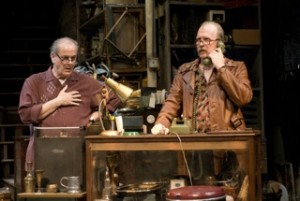 Francis Guinan and Tracy Letts in Steppenwolf's current production/Photo: Michael Brosilow