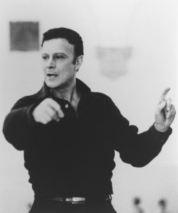 The Joffrey's Gerald Arpino in rehearsal