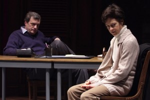 "Steppenwolf artistic director, right, with John Procaccino in ""Good Boys and True""/Photo: Michael Brosilow"