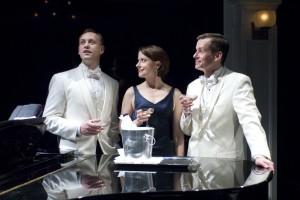 John Sanders, Kate Fry and Rob Lindley/Photo: Michael Brosilow