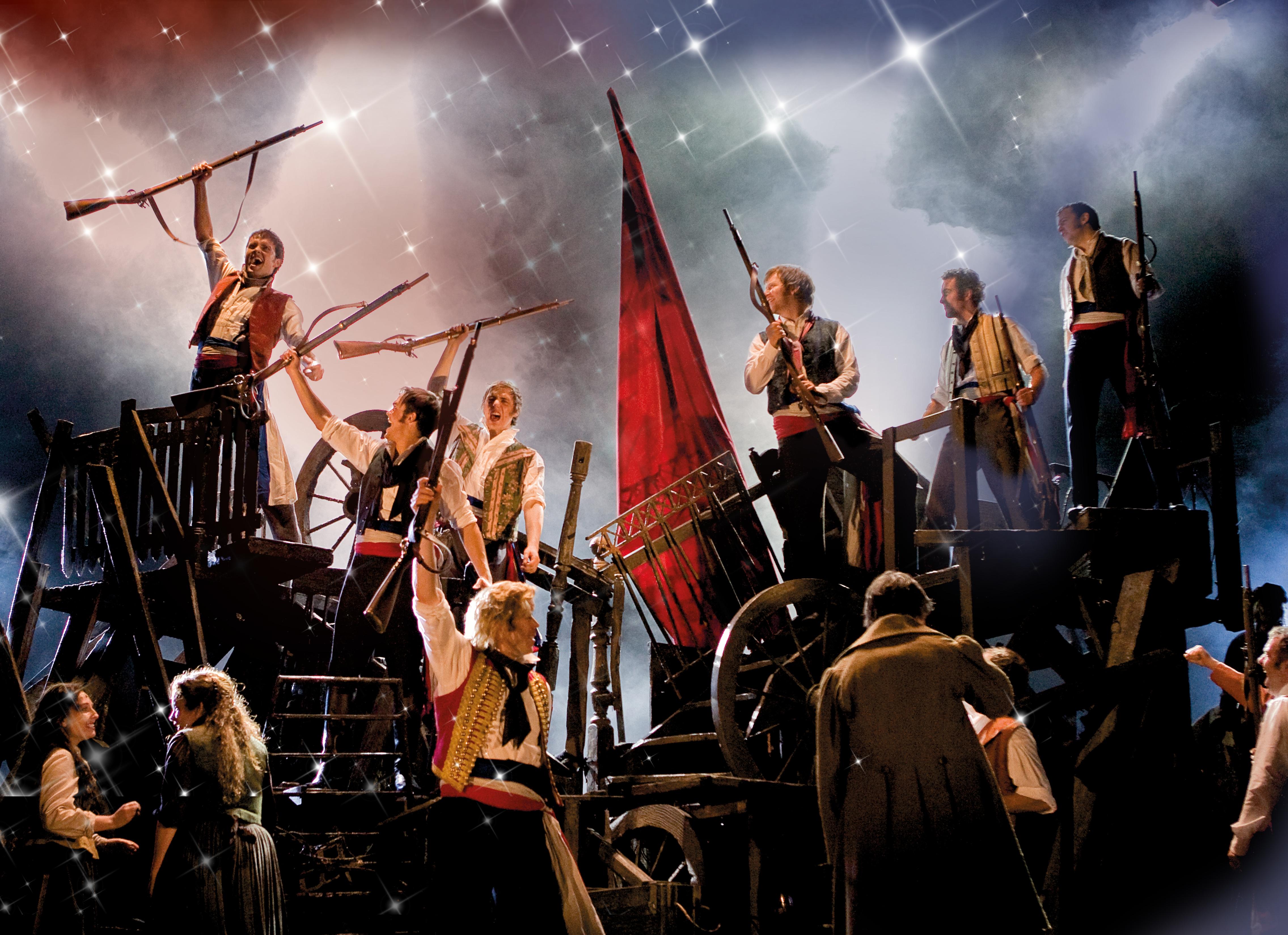 Les Misérables, musical, Roma