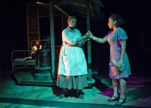 LaRoyce Hawkins, Toni Lynice Fountain and Lynn Wactor/ Photo: Michael Brosilow