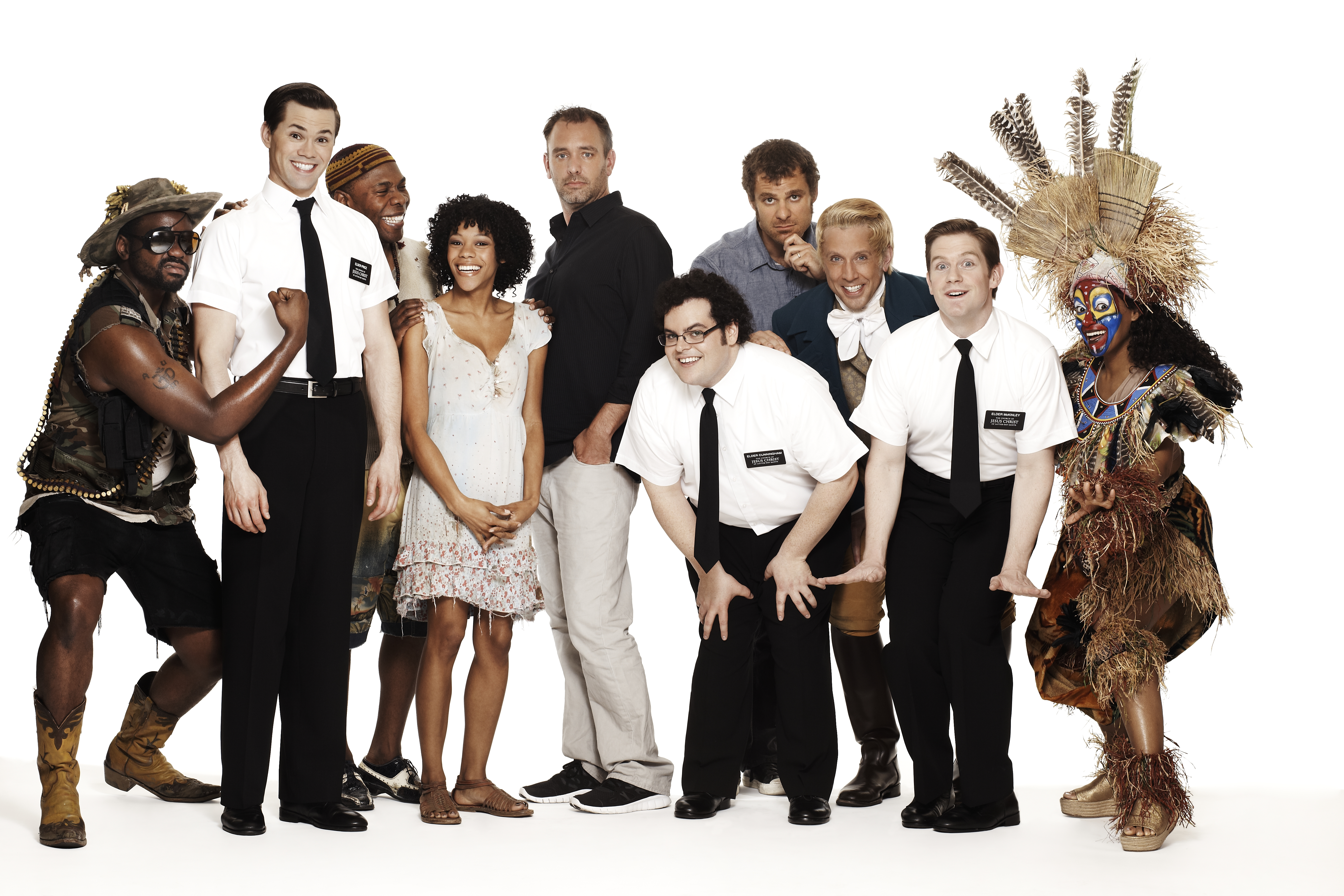 Book Of Mormon Traveling Show Cast