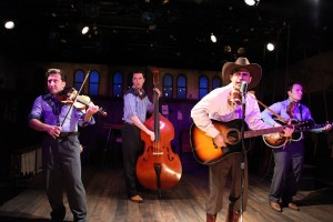 L to R: Greg Hirte,      Austin Cook,      Matthew Brumlow, Michael Mahler/Photo by Johnny Knight