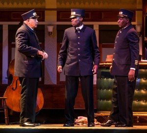 Larry Marshall, Tosin Morohunfola and Cleavant Derricks /Photo: Liz Lauren
