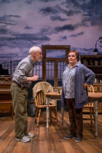 John Mahoney and Penny Slusher/Photo: Michael Brosilow