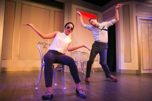 Tawny Newsome and Mike Kosinski/Photo: Todd Rosenberg