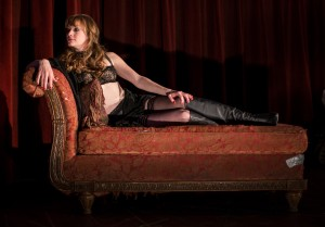 "Amanda Drinkall in ""Venus in Fur""/Photo: Liz Lauren"