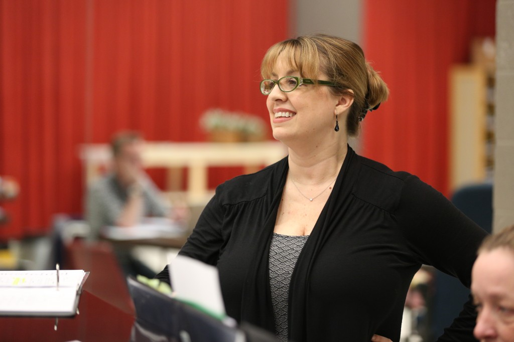 "Rachel Rockwell in rehearsal for ""Brigadoon""/Photo"