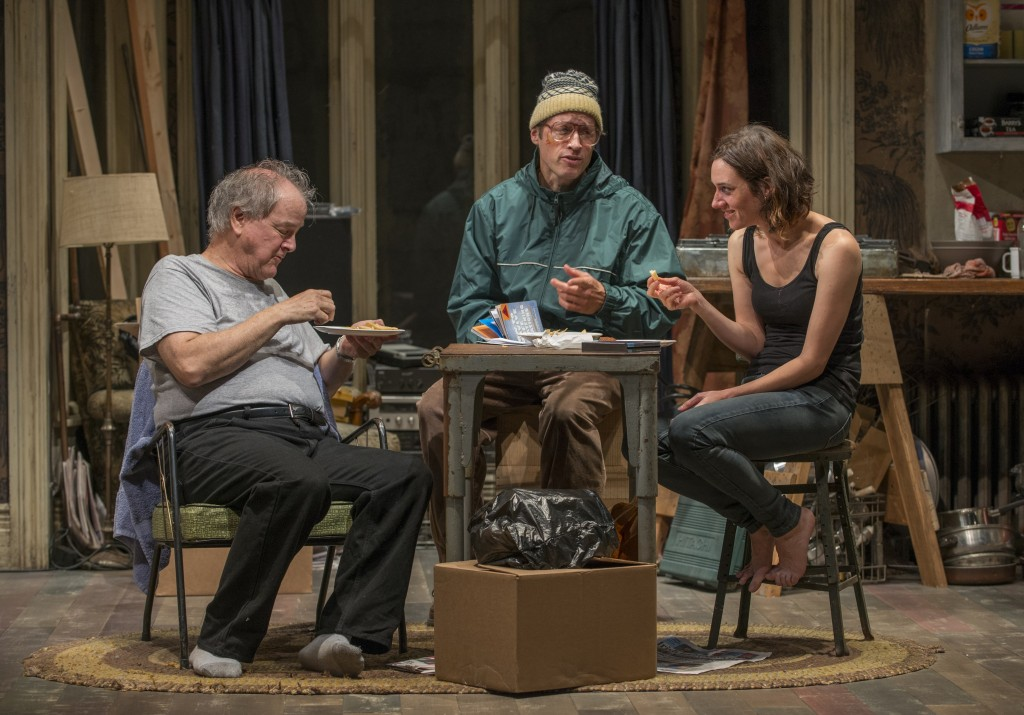 (l to r): Francis Guinan, Tim Hopper and Helen Sadler/Photo: Michael Brosilow