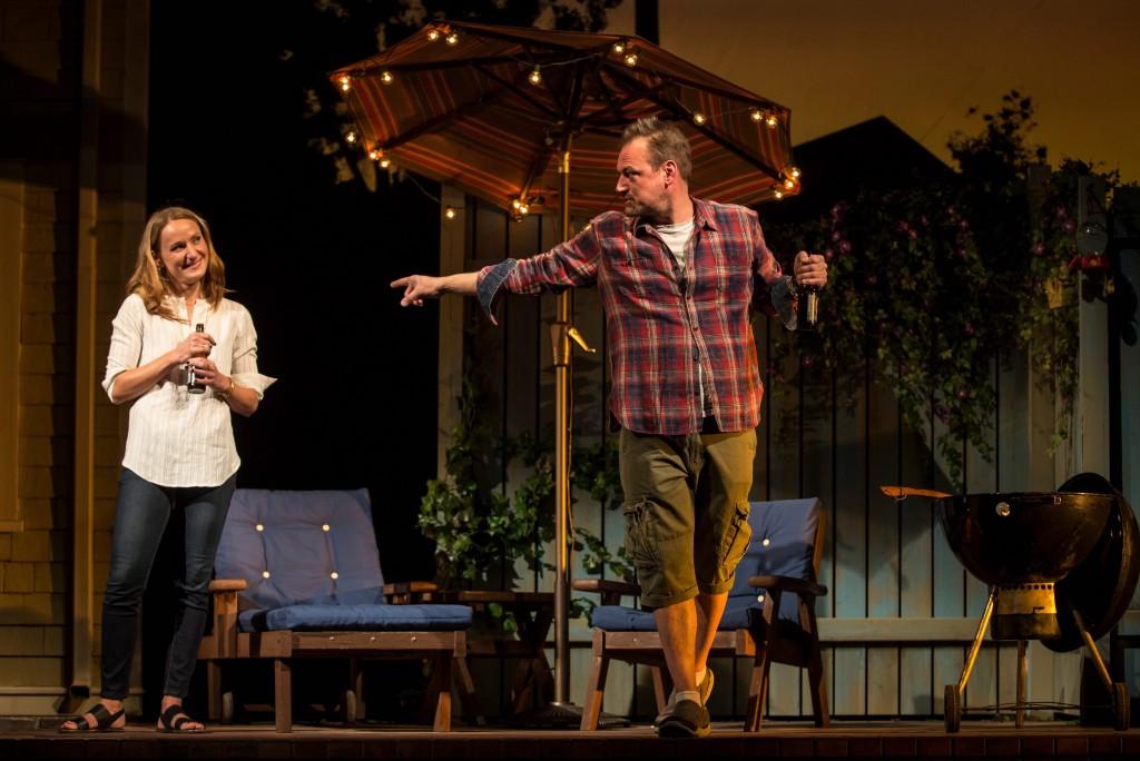 Jennifer Coombs and Mark Montgomery/Photo: Liz Lauren