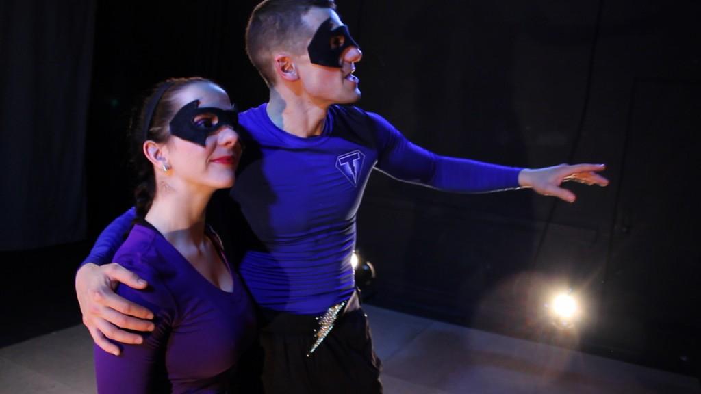 (L-R) Kate O'Hanlon and Tristan Bruns/Photo: Javier Villamil
