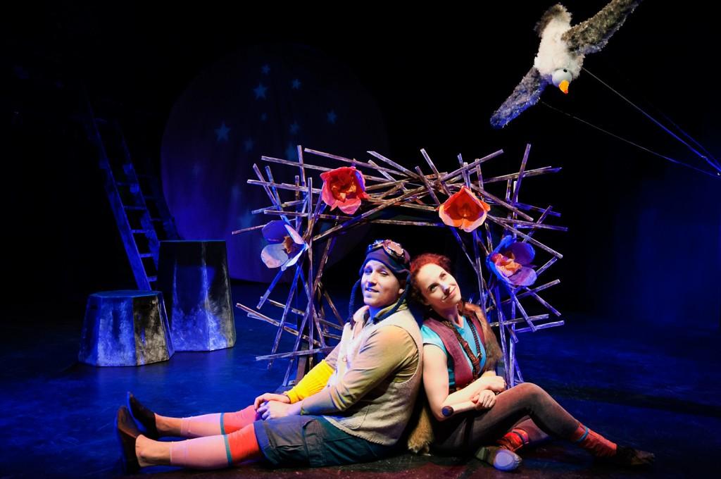 (l-r) Joshua Davis and Sarah Scanlon/Photo: Sooz Main