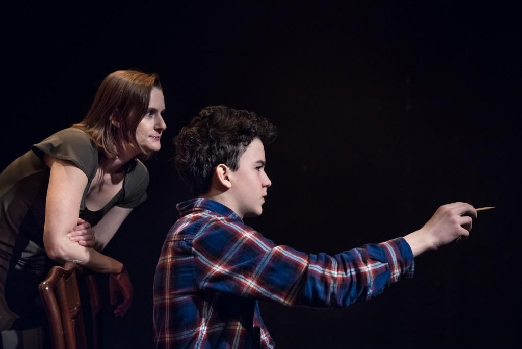(l to r) Sarah Bright and Izadorius Tortuga/Photo: Nathanael Filbert
