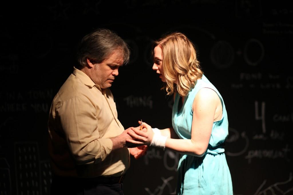 """Daniel Houle & Libby Conkle in """"B.E.M.""""/Photo: Sergio Soltero"""