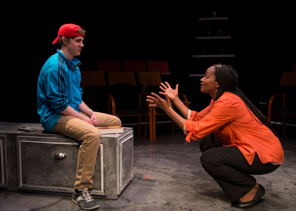 (l to r) Brendan Meyer and Lily Mojekwu/Photo: Michael Brosilow