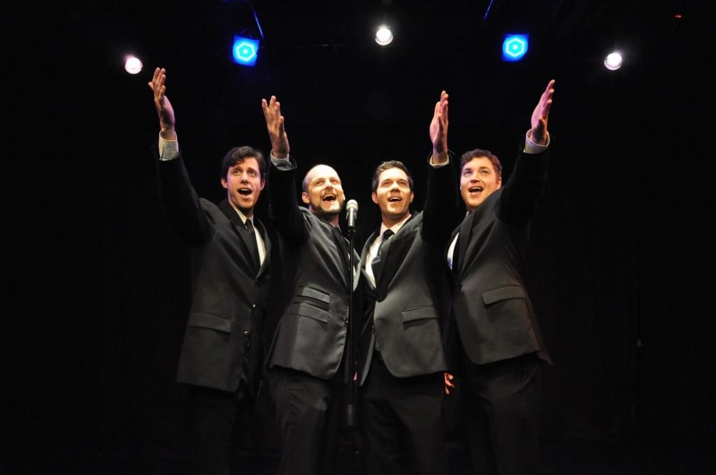 (l to r) Gary Fields, Thomas Wynne, Michael Silver, John Wesley Hughes, Photo: Heather Scholl