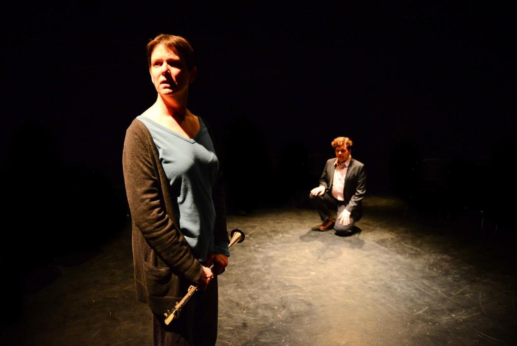 Diana Slickman and Colm O'Reilly/ Photo by Evan Hanover