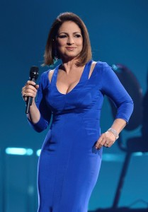 """LAS VEGAS, NV - APRIL 26: Honoree Gloria Estefan performs during the 18th annual Keep Memory Alive """"Power of Love Gala"""" benefit for the Cleveland Clinic Lou Ruvo Center for Brain Health honoring Gloria Estefan and Emilio Estefan Jr. on April 26, 2014 in Las Vegas, Nevada. (Photo by Ethan Miller/Getty Images for Keep Memory Alive)"""