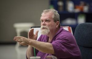 Director Steve Scott in rehearsal/Photo: Liz Lauren