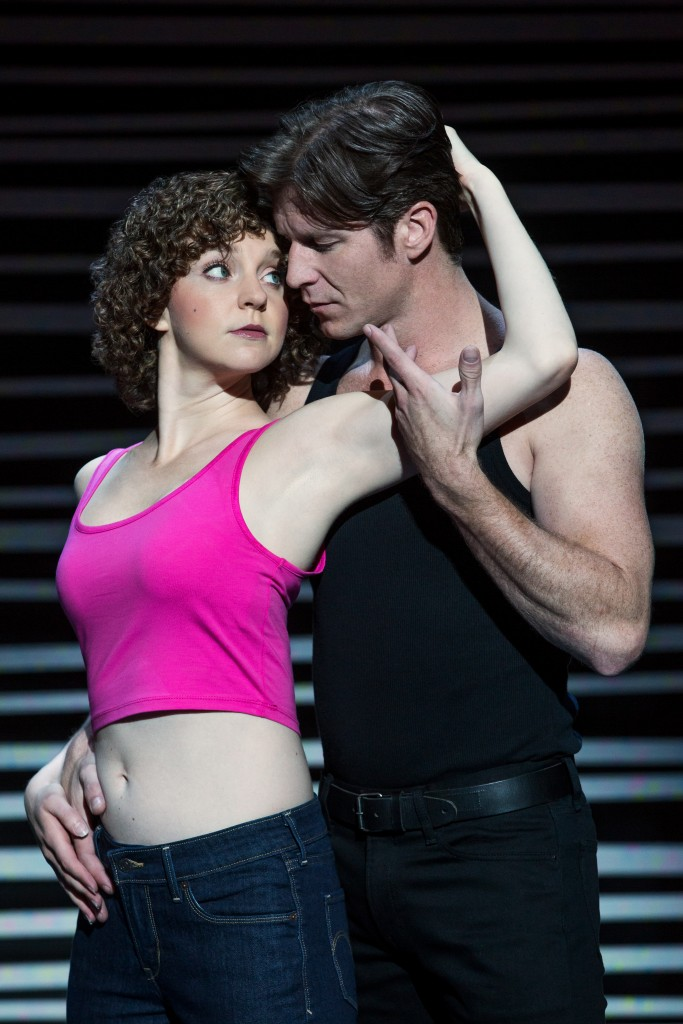 "Christopher Tierney (Johnny) and Gillian Abbott (Baby) in the North American tour of ""Dirty Dancing - The Classic Story on Stage"" / Photo: Matthew Murphy"