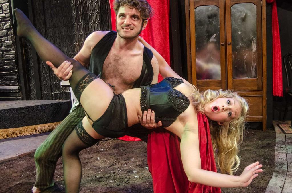 Antonio Brunetti and Leslie Ruettiger/Photo: Michal Janicki