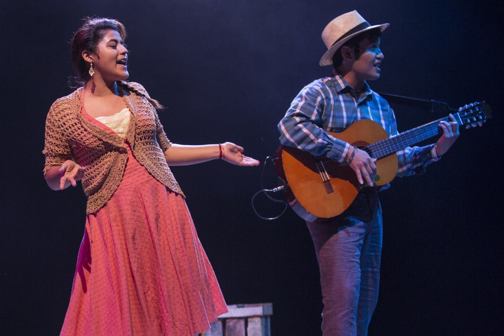 (l to r) Paola Rico and Hector Velazquez/Photo: Liz Lauren