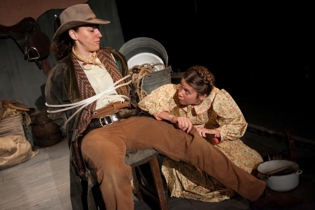 Elyse Dawson, Eliza Rose Fichter/Photo: Johnny Knight